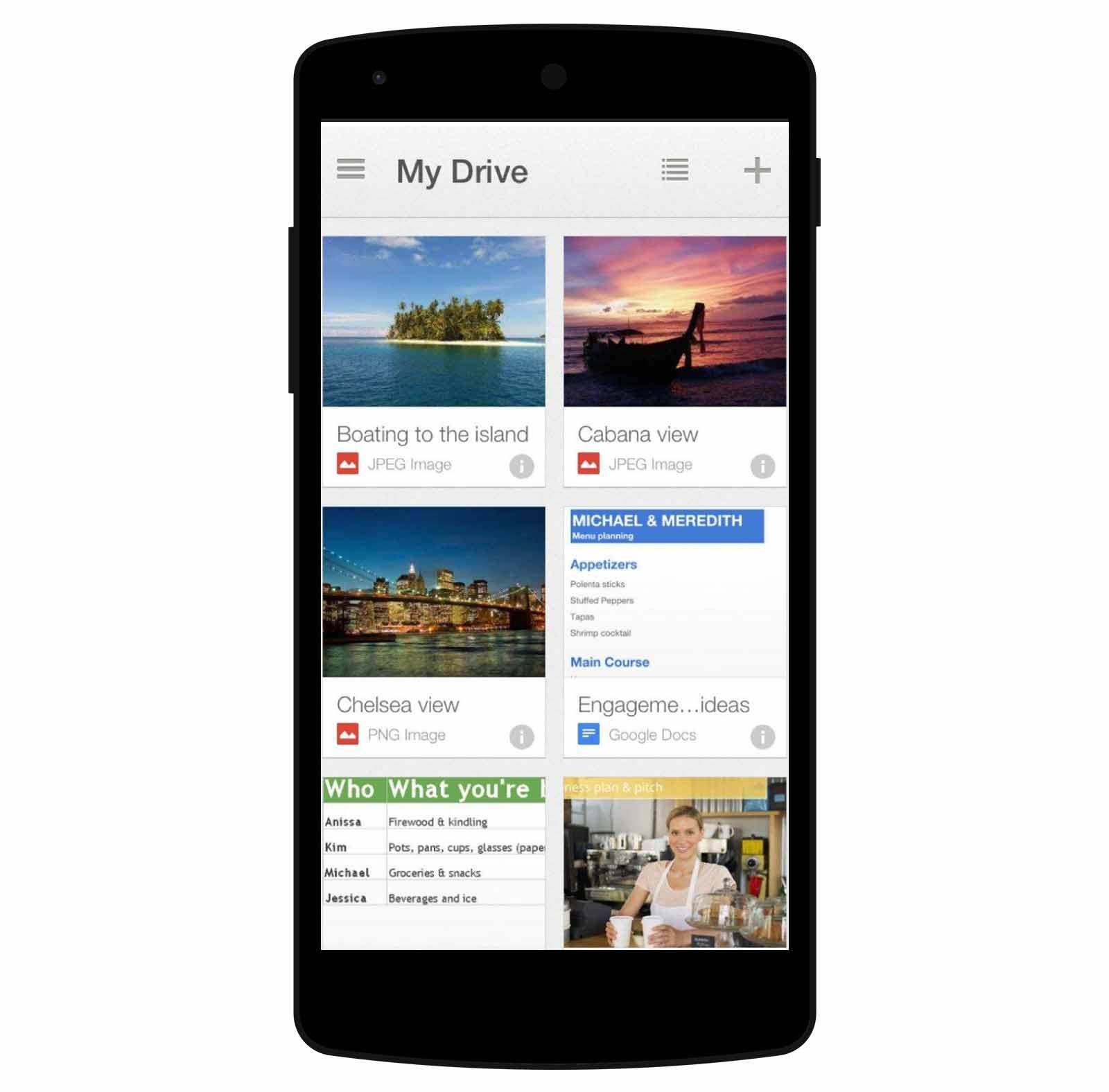 5 apps indispensables en un concurso público - Google Drive