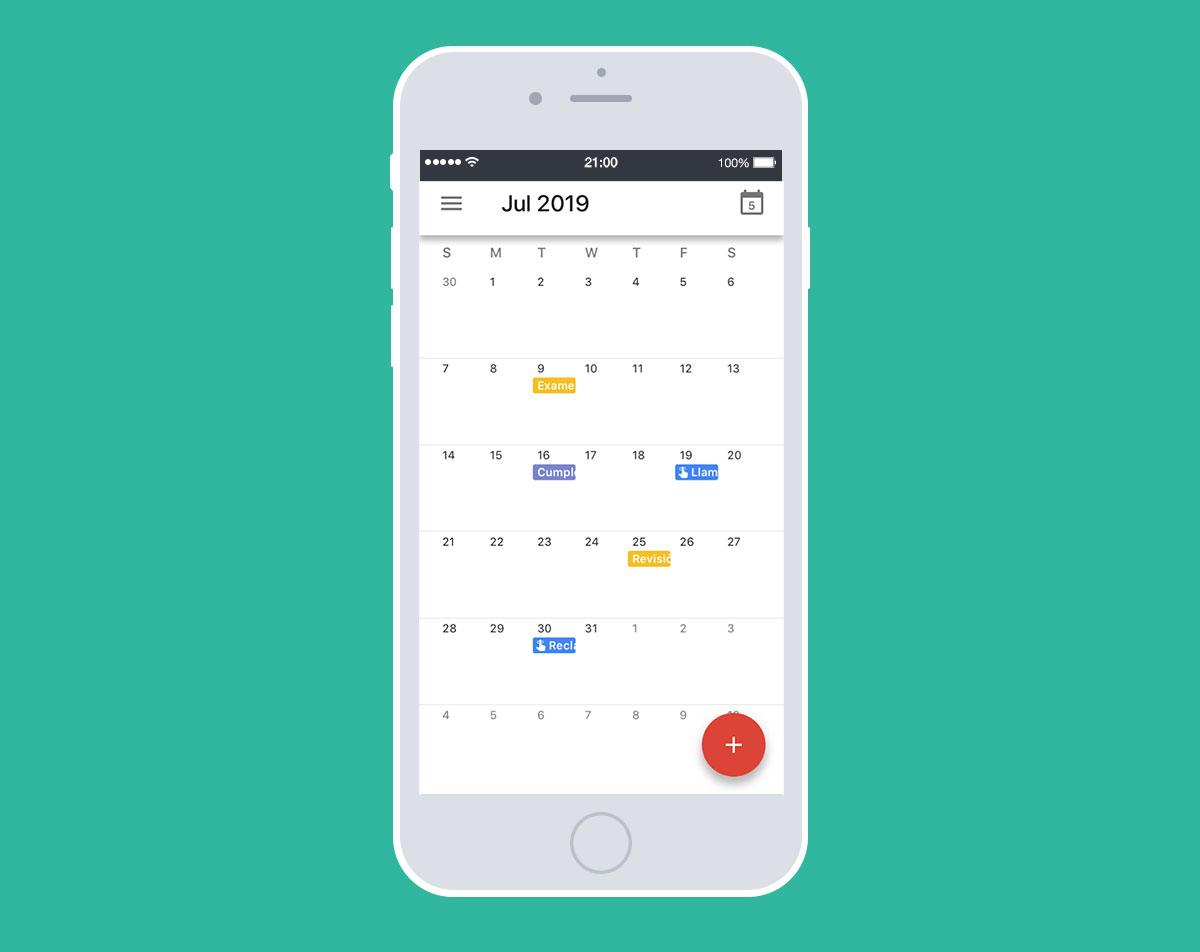 Herramientas gratis para productividad: Google Calendar