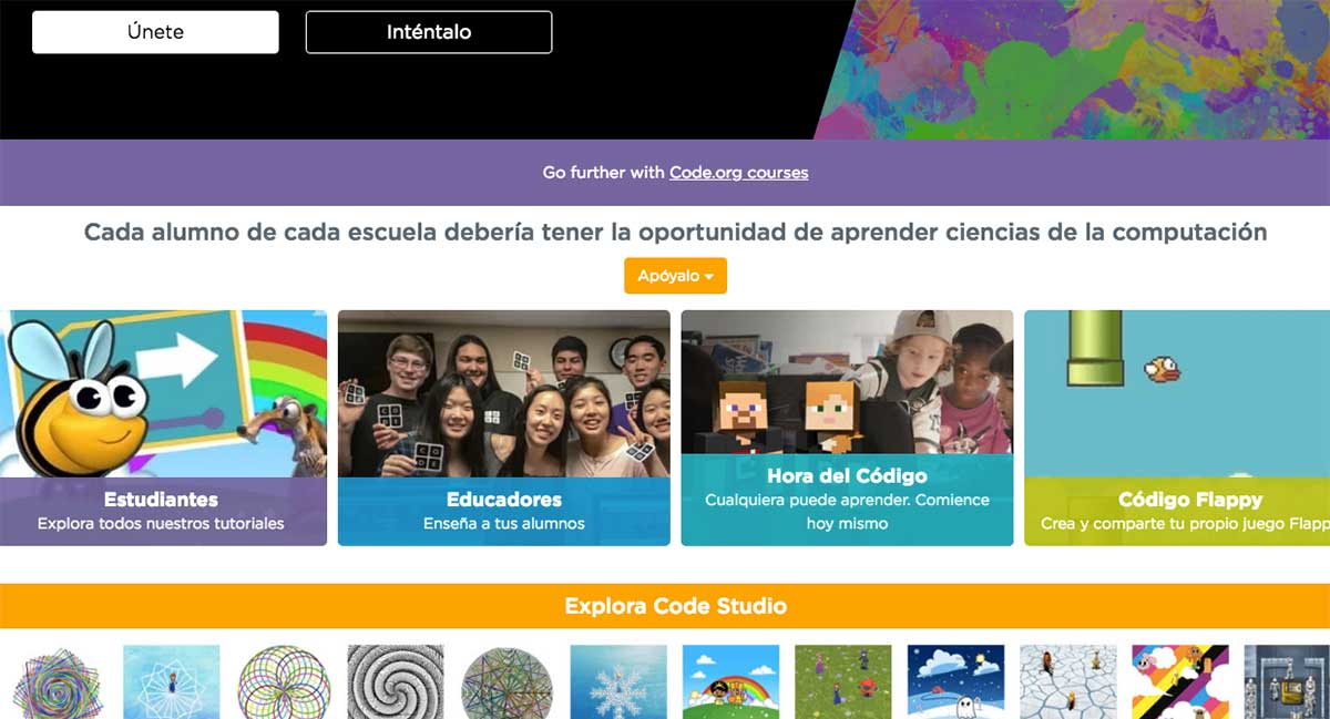 Recursos educativos gratis para las aulas modernas: code.org