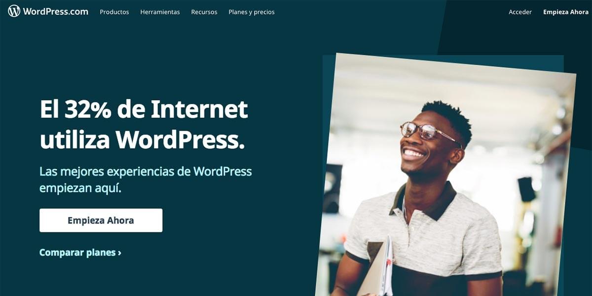 Creadores de blogs gratis para docentes - wordpress.com