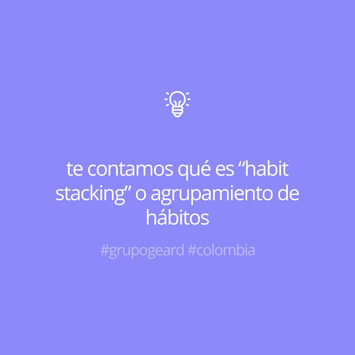 """Te contamos qué es """"habit stacking"""" o agrupamiento de hábitos"""