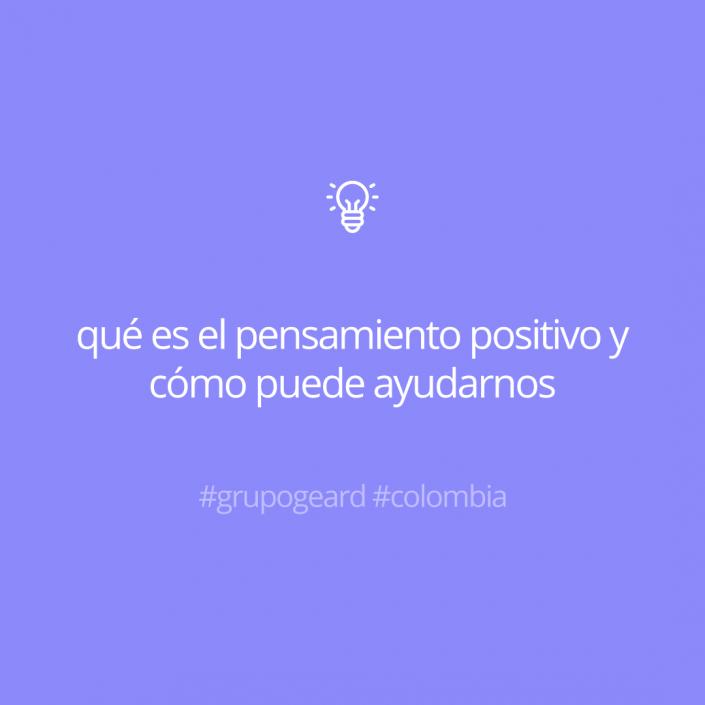 ¿Qué es el pensamiento positivo?
