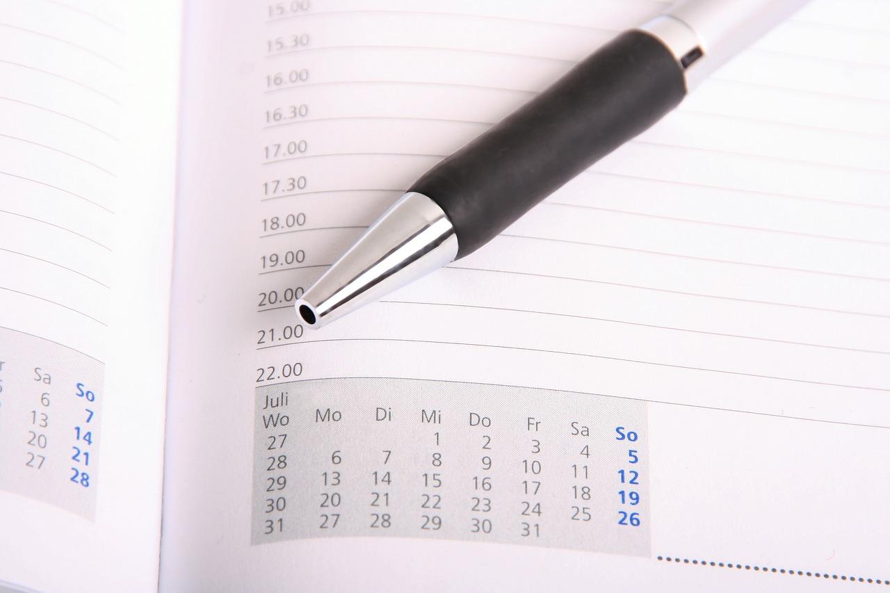 calendario concurso de admisión