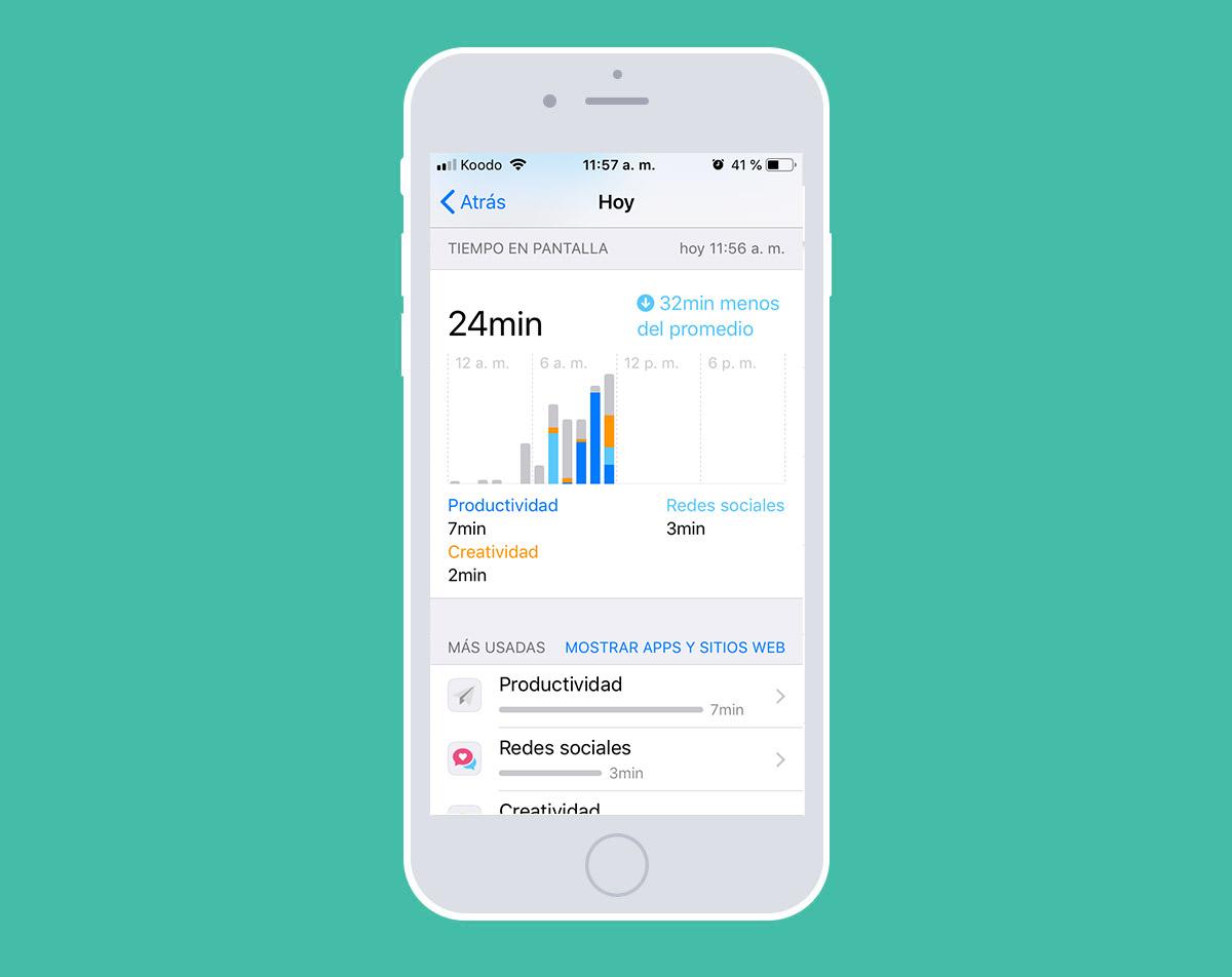 ¿Cómo desligar tu mente de tu teléfono? Tiempo en pantalla en iPhone