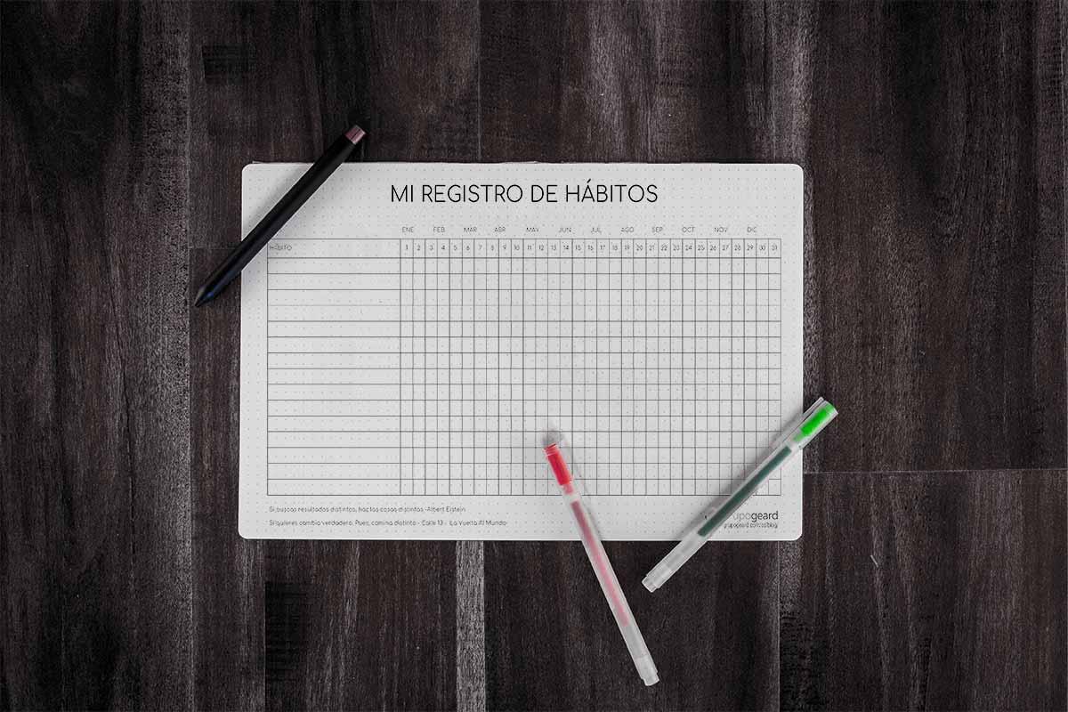La importancia de llevar un registro de nuestros hábitos y cómo hacerlo