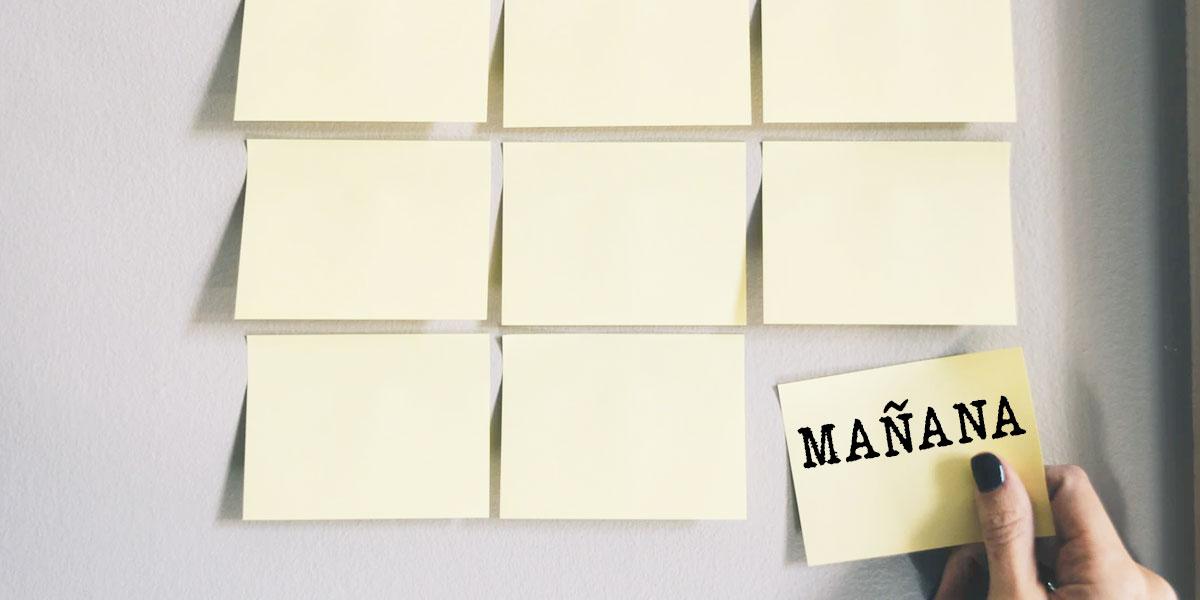 ¿Cómo vencer la procrastinación? 5 consejos que nos pueden ayudar